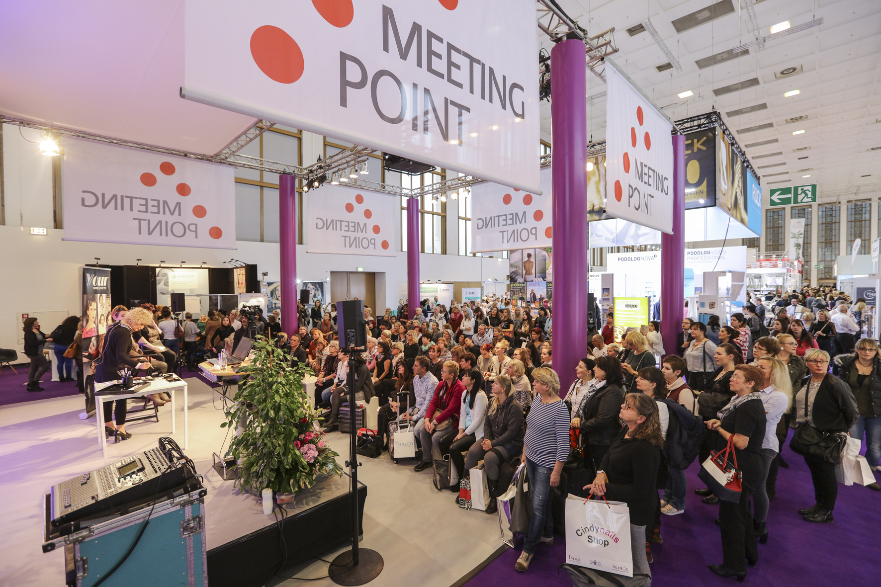 Berlin Cosmetica Exhibition hall 2018